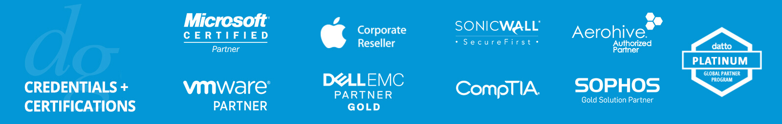 Strategic Partnerships and Certifications | Columbia, MD | Dresner Group